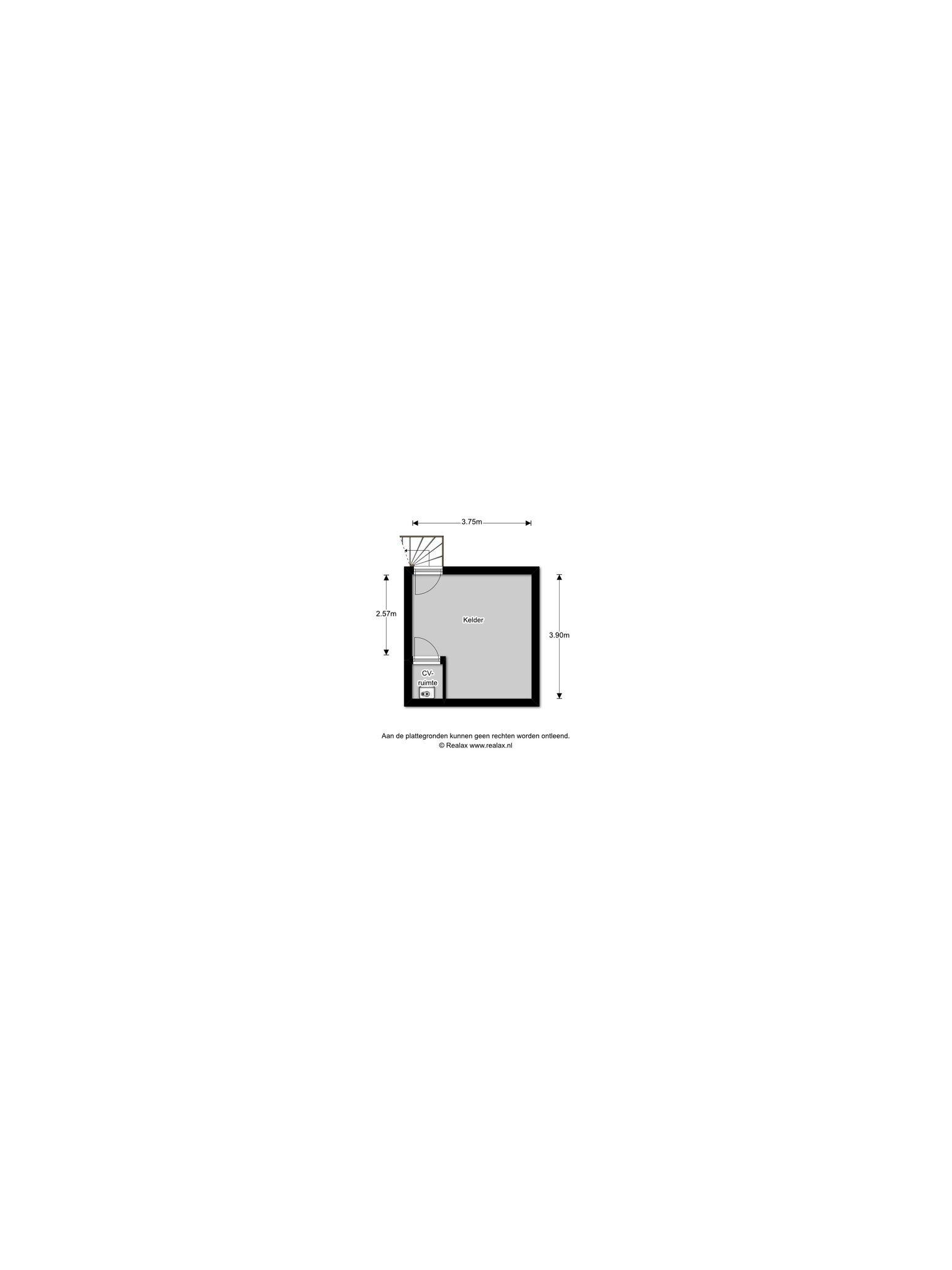 Plattegrond van Oosthuyselaan 35
