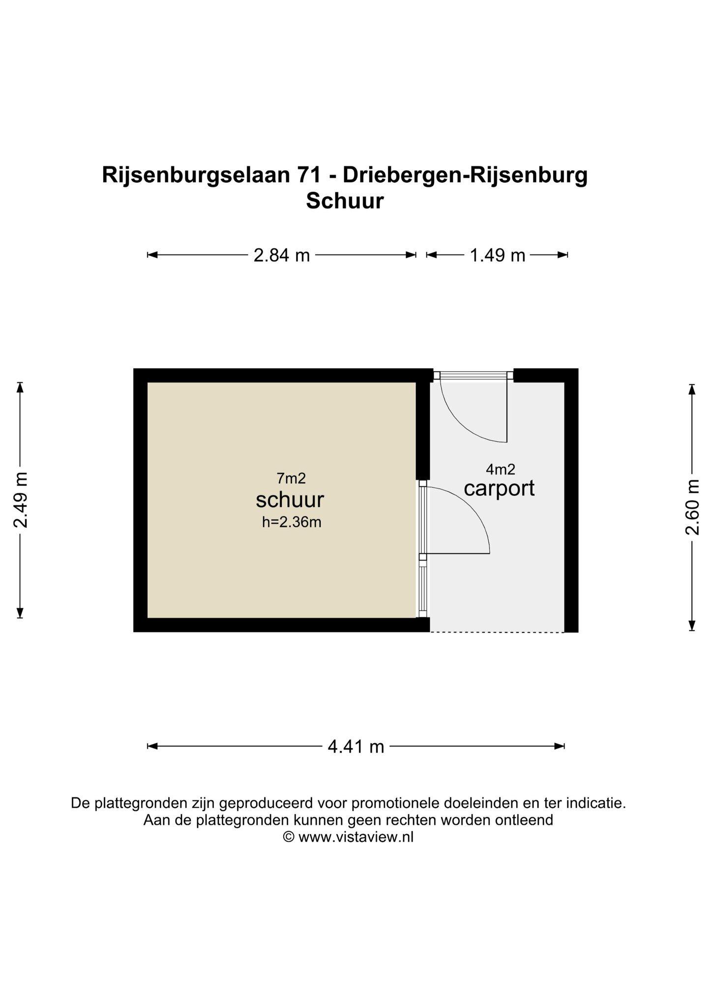 Plattegrond Rijsenburgselaan 71